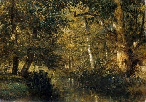 A Stream in the Undergrowth | Constant Troyon | Oil Painting