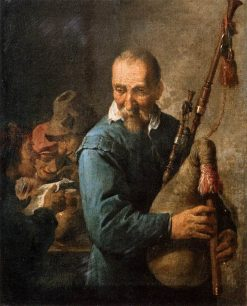 The Musette Player | David Teniers II | Oil Painting