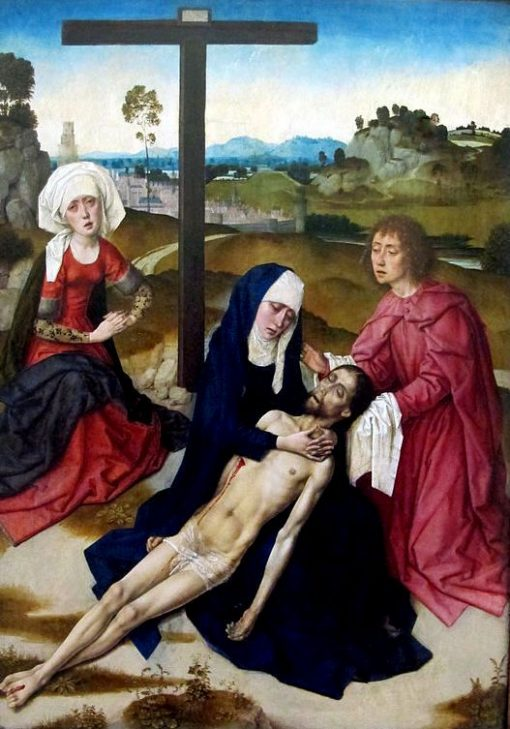 Lamentation of Christ | Dieric Bouts | Oil Painting