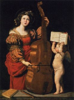 Saint Cecilia | Domenichino | Oil Painting