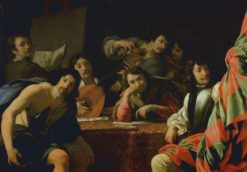 A Gathering of Friends | Eustache Le Sueur | Oil Painting