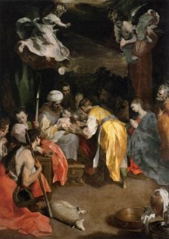 The Circumcision   Federico Barocci   Oil Painting