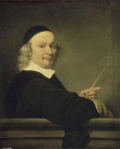 A Mathemetician | Ferdinand Bol | Oil Painting