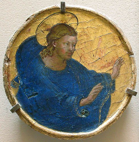 God the Father   Fra Angelico   Oil Painting