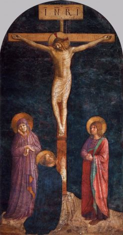 Crucifixion | Fra Angelico | Oil Painting