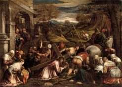 Calvary | Francesco Bassano the Younger | Oil Painting