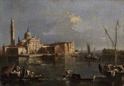 Church of San Giorgio Maggiore | Francesco Guardi | Oil Painting