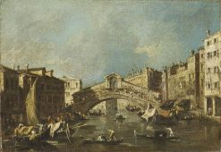 Departure of the Buccanteer on Ascension Day | Francesco Guardi | Oil Painting