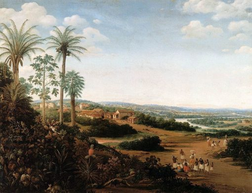 The Home of a 'Labrador' in Brazil | Frans Post | Oil Painting