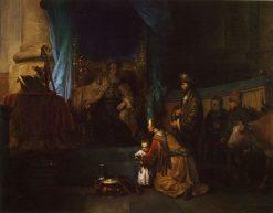 Hannah Presenting Samuel to Eli | Gerbrand van den Eeckhout | Oil Painting