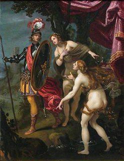 Carlo and Ubaldo are Delivered to Rinaldo | Giovanni Biliverti | Oil Painting