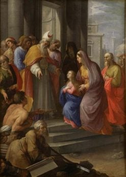 The Presentation of the Virgin in the Temple | Giuseppe Cesari | Oil Painting