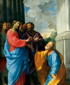 Christ Handing the Keys to Saint Peter | Guido Reni | Oil Painting