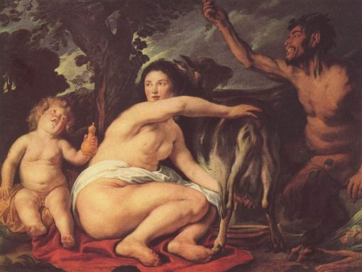 The Children of Zeus | Jacob Jordaens | Oil Painting