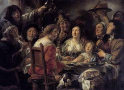 The King Drinks | Jacob Jordaens | Oil Painting