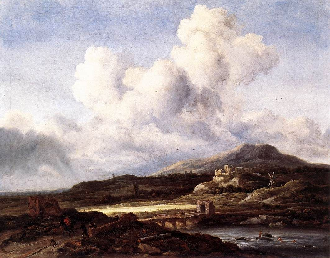 Ray of Sunlight | Jacob van Ruisdael | Oil Painting