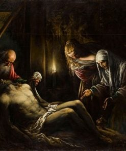The Deposition   Jacopo Bassano   Oil Painting