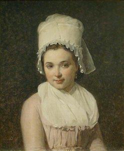 Catherine-Marie-Jeanne Tallard | Jacques Louis David | Oil Painting