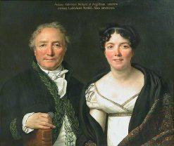 Monsieur and Madame Mongez | Jacques Louis David | Oil Painting
