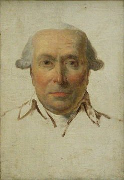 Filippo Mazzei | Jacques Louis David | Oil Painting