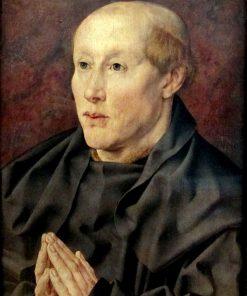 Portrait of a 40-Year Old Monk | Jan Gossaert | Oil Painting
