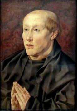 Portrait of a 40-Year Old Monk   Jan Gossaert   Oil Painting