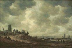Beach near Egmond | Jan van Goyen | Oil Painting