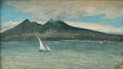 Vesuvius | Jean Baptiste Camille Corot | Oil Painting