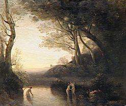 Bathers at Bellinzona