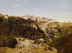 Volterra: Le Municipe   Jean Baptiste Camille Corot   Oil Painting