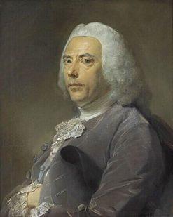 Portrait of Pierre Bouguer   Jean Baptiste Perronneau   Oil Painting