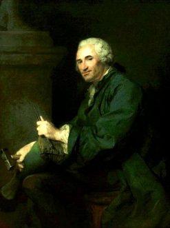 Portrait of Lambert Sigisbert Adam | Jean Baptiste Perronneau | Oil Painting