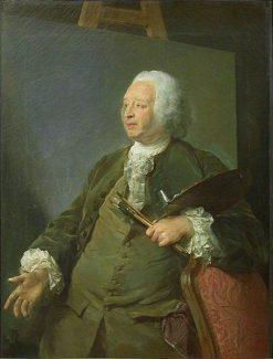 Portrait of Jean-Baptiste Oudry | Jean Baptiste Perronneau | Oil Painting