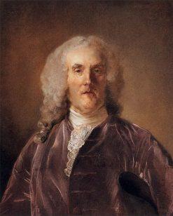 Portrait of Abraham Van Robais | Jean Baptiste Perronneau | Oil Painting