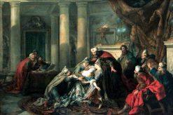 Esther's Fainting | Jean Francois de Troy | Oil Painting