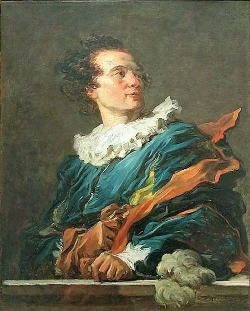 Fantasy Figure - Portrait of the Abbot of Saint-Non (1727-1791) | Jean HonorE Fragonard | Oil Painting