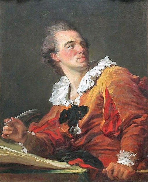 Fantasy Figure - Portrait of Louis Francois Prault (1734-1807)