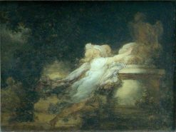 Le voeu a l'Amour (The Love Wish) | Jean HonorE Fragonard | Oil Painting