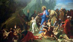 The Resurrection of Lazarus | Jean Jouvenet | Oil Painting