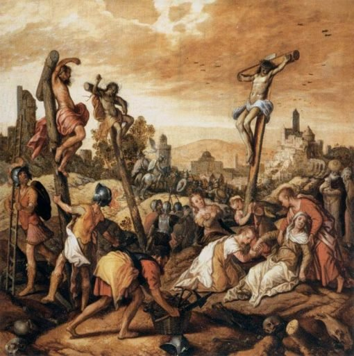 Christ on the Cross | Joachim Beuckelaer | Oil Painting