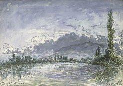 L'Isere a Grenoble | Johan Barthold Jongkind | Oil Painting