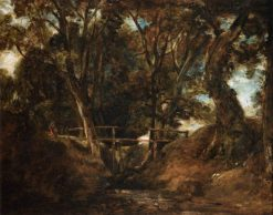 Helmingham Dell   John Constable   Oil Painting