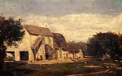 The Farm | Jules DuprE | Oil Painting