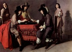 The Tric-trac Players | Louis Le Nain | Oil Painting