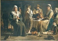 Peasant Family in an Interior | Louis Le Nain | Oil Painting