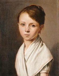 Berthe Juliette Dubois | Louis LEopold Boilly | Oil Painting