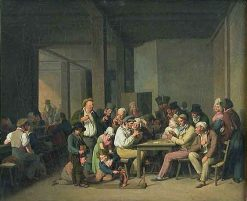 Scene de cabaret | Louis LEopold Boilly | Oil Painting