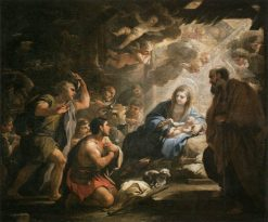 Adoration of the Shepherds | Luca Giordano | Oil Painting