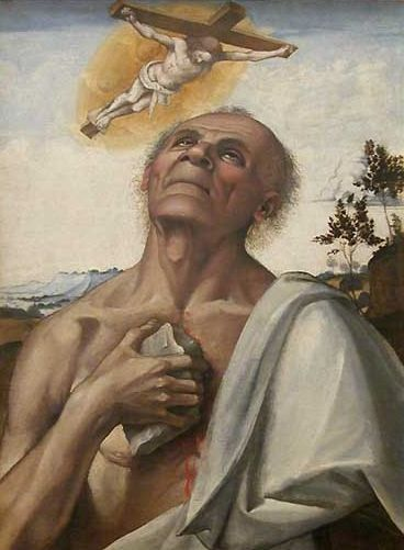 The Penitent Saint Jerome in Ecstasy | Luca Signorelli | Oil Painting