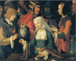 The Fortune-Teller | Lucas van Leyden | Oil Painting